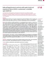 21 nduced hypothermia in patients with septic shock and